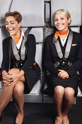 Flight attendant prank